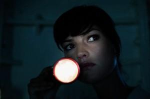 Woman Flashlight The Ready Center