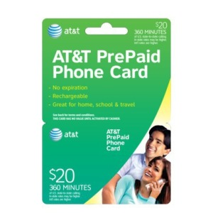 The Ready Center Phone Card