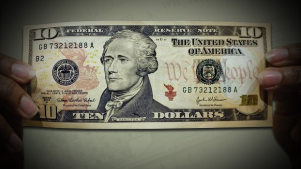 $10 Bill The Ready Center
