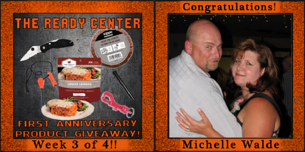 Week 3 Winner - Michelle Walde - The Ready Center