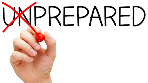 Prepared Not Unprepared - The Ready Center
